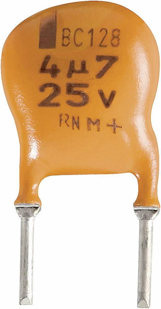 Vishay Radijalni kondenzator (OxV) 10mm x 7mm raster 5mm 2.2F 25 V 2222 128 36228