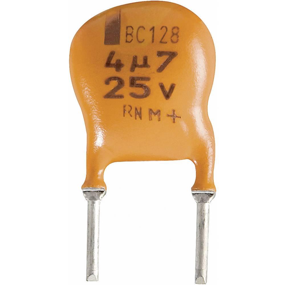 Vishay Radijalni kondenzator(OxV) 10mm x 8mm raster 5mm 10F 25 V 2222 128 36109