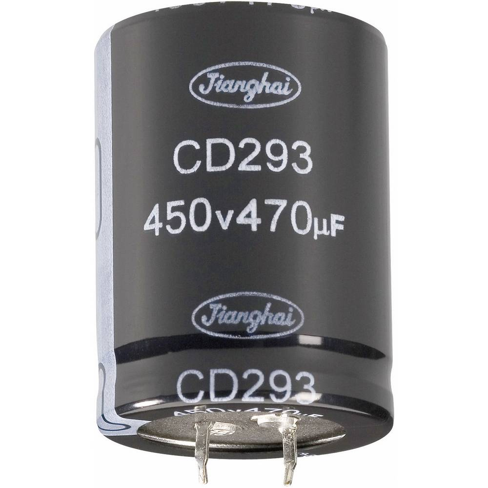 Jianghai Long-Life Zaskočni kondenzator (OxV) 30mm x 35mm 220F 400 V ECS2GBZ221MT6P23035