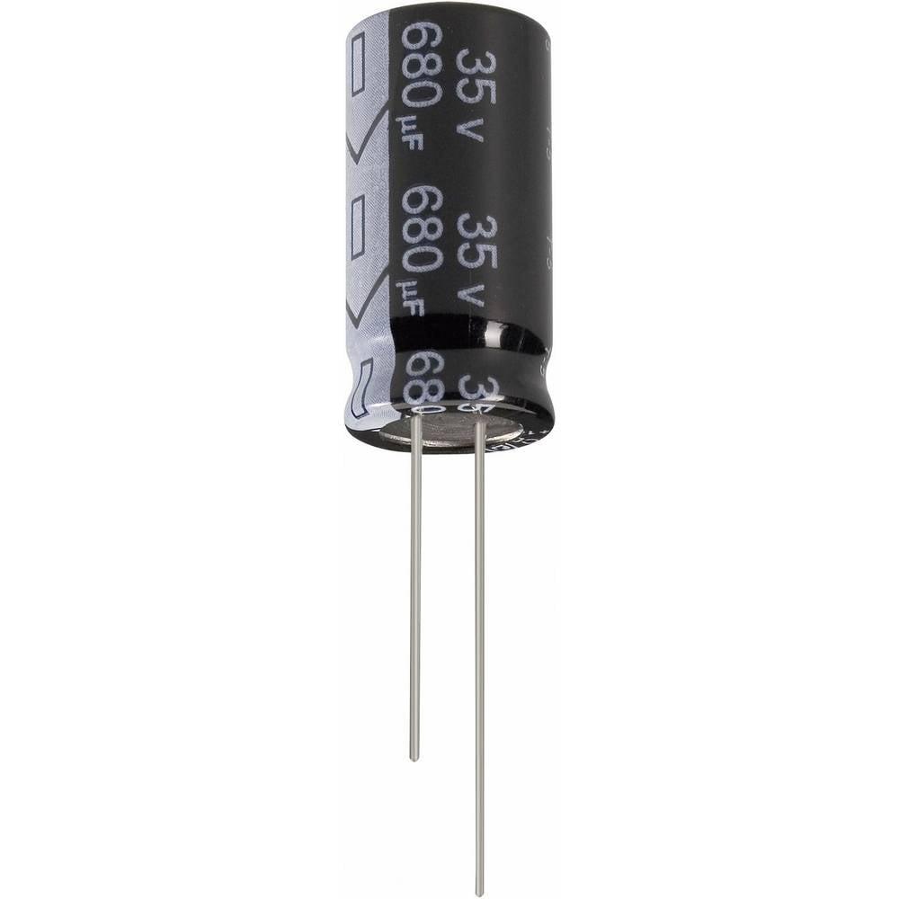 Jianghai Ultra-LOW-ESR radijalni kondenzator (OxV) 16mm x 40mm raster 7.5mm ECR1JGC102MFF751640