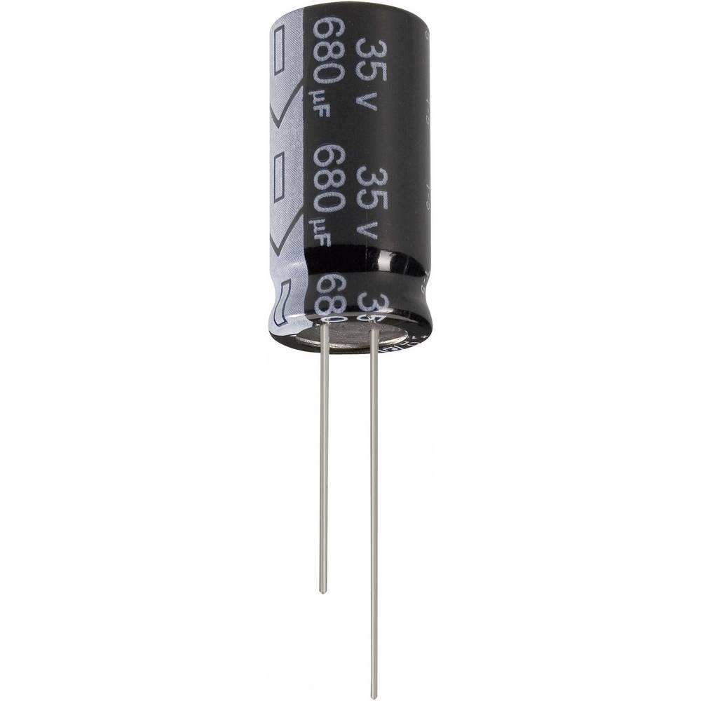 Jianghai Ultra-LOW-ESR radijalni kondenzator (OxV) 8mm x 12mm raster 3.5mm 47F 63 V ECR1JGC470MFF350812