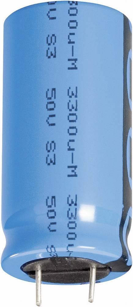 Vishay standardni elektrol.kondenzator Elko 2222 048 65102 (OxV) 10 mm x 20 mm raster 5.0 mm