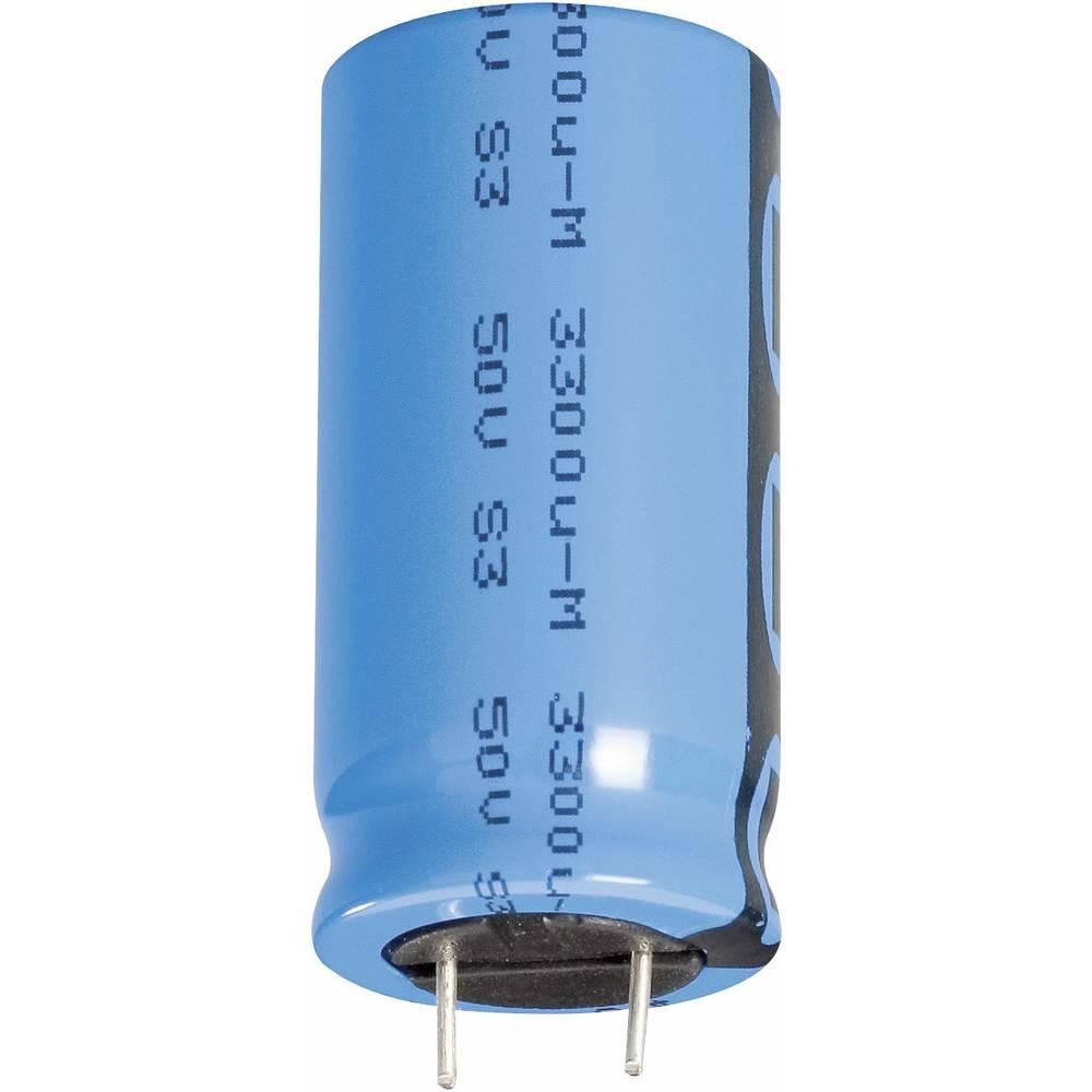 Vishay standardni elektrol.kondenzator Elko 2222 048 68101 (OxV) 10 mm x 12 mm raster 5.0 mm