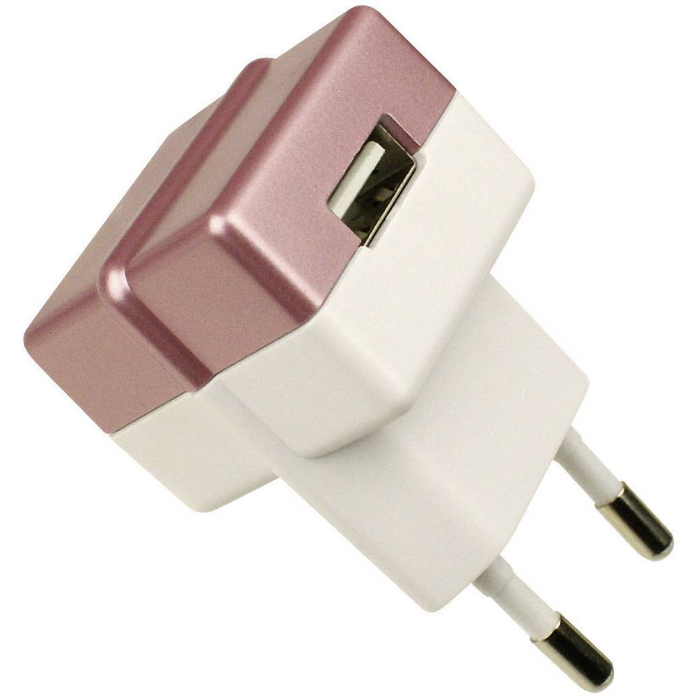 ECO vtič/omrežni del z USB izhodom rdeč HNP05-ECO-RED-C HN Power