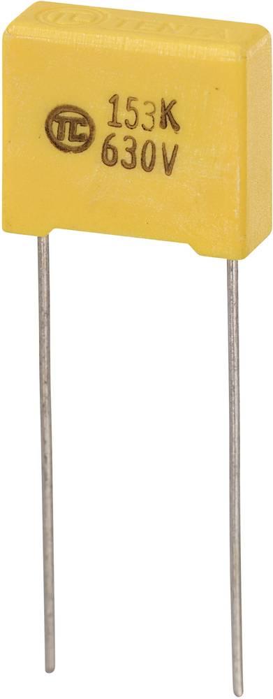 MKS-folijski kondenzator, radijalno ožičen 0.015 µF 630 V/DC 5 % 10 mm (D x Š x V) 13 x 5 x 11 mm 1 kos