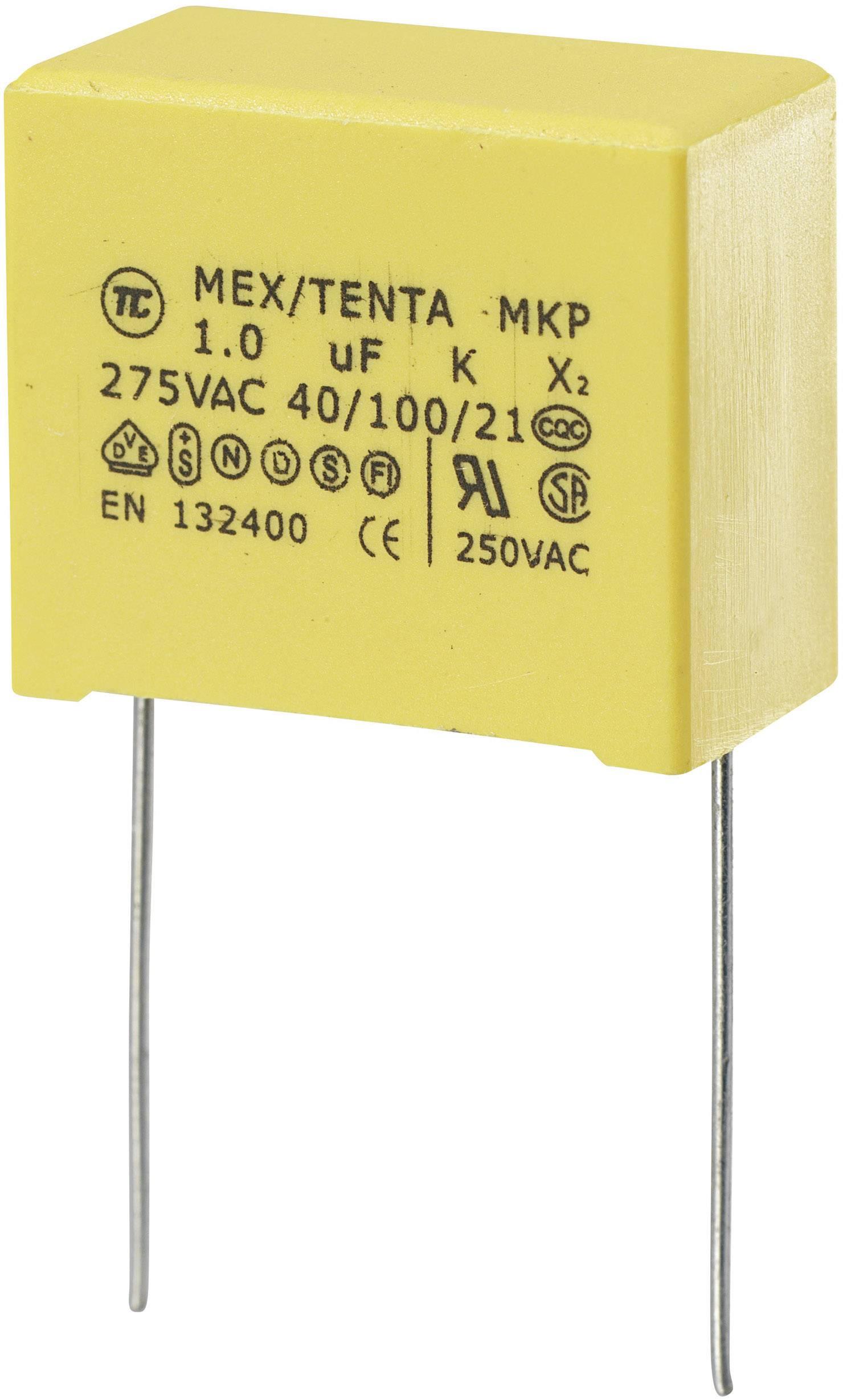 Entstörkondensator 0,1 uF + 2 x 2500 pF X2 Y - NOS