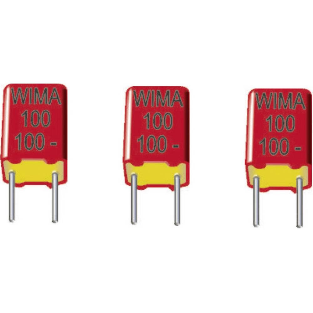 FKP-folijski kondenzator, radijalno ožičen 680 pF 630 V/DC 20 % 5 mm (D x Š x V) 7.2 x 4.5 x 6 mm Wima FKP2J006801D00HSSD 1 kos
