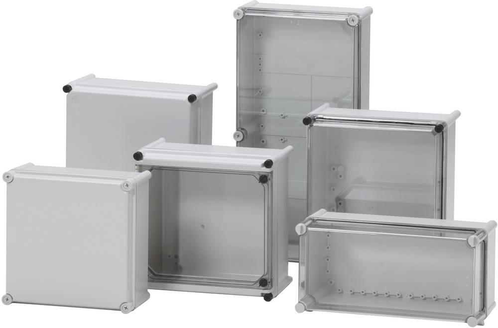 Installationskabinet Fibox PC 5638 18 G 558 x 278 x 130 Polycarbonat, Polyamid 1 stk