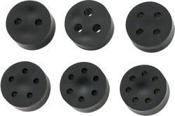 Multipel tätning KSS 452259 Gummi M12 Svart 1 st