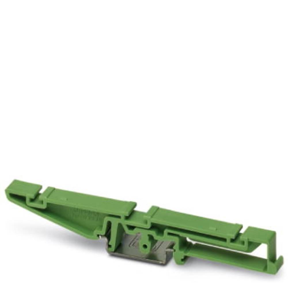 DIN-skinnekabinet sokkelelement Phoenix Contact UM108-FE 107.5 Plast 10 stk