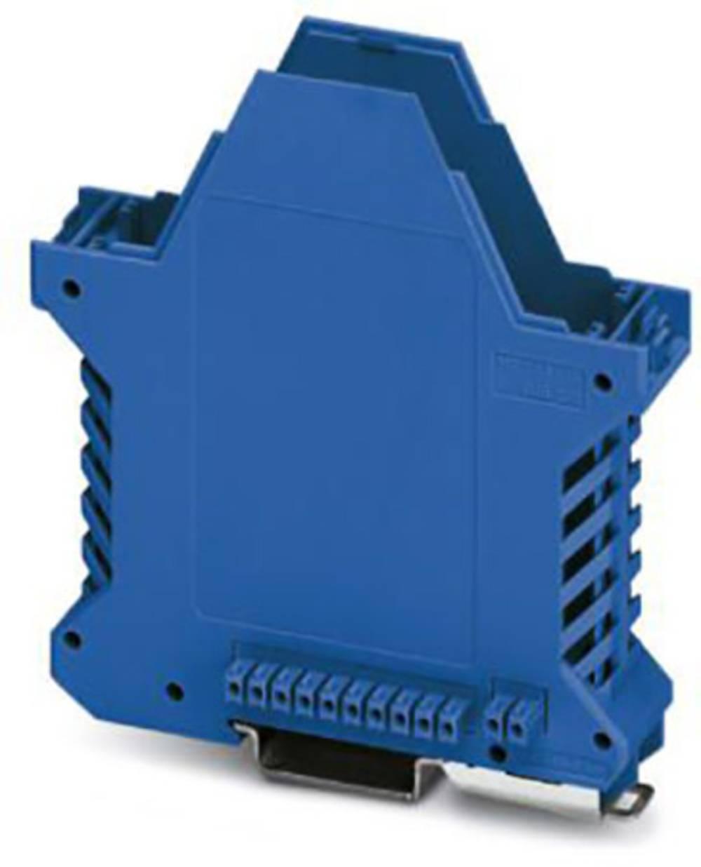 DIN-skinnekabinet underdel Phoenix Contact ME 22,5 UT/FE BUS/10+2 BU Polyamid 10 stk