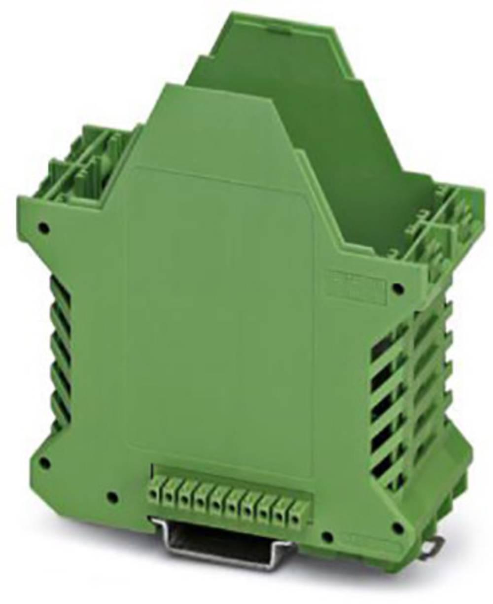 DIN-skinnekabinet underdel Phoenix Contact ME 45 UT BUS/10 GN Polyamid 10 stk