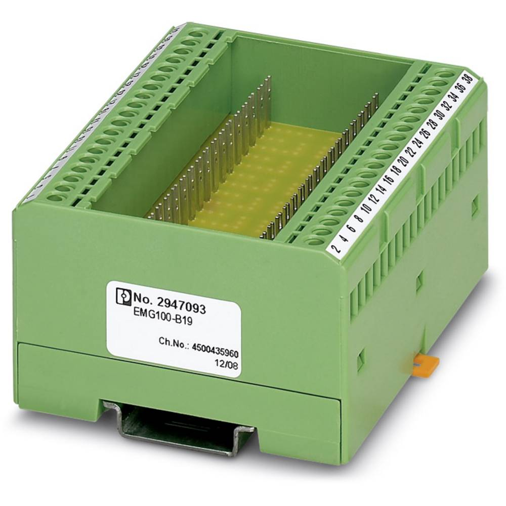 DIN-skinnekabinet Phoenix Contact EMG100-B19 Plast 2 stk
