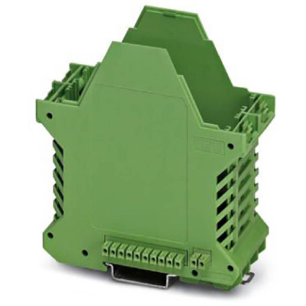 DIN-skinnekabinet underdel Phoenix Contact ME 45 UT/FE BUS/10+2 GN Polyamid 10 stk