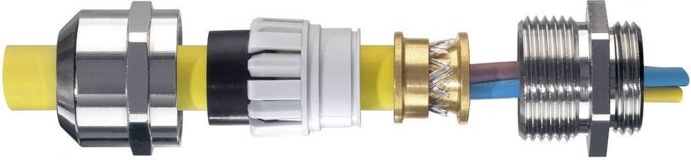 Kabelforskruning Wiska EMSKV 20 EMV-Z M20 Messing Messing 50 stk