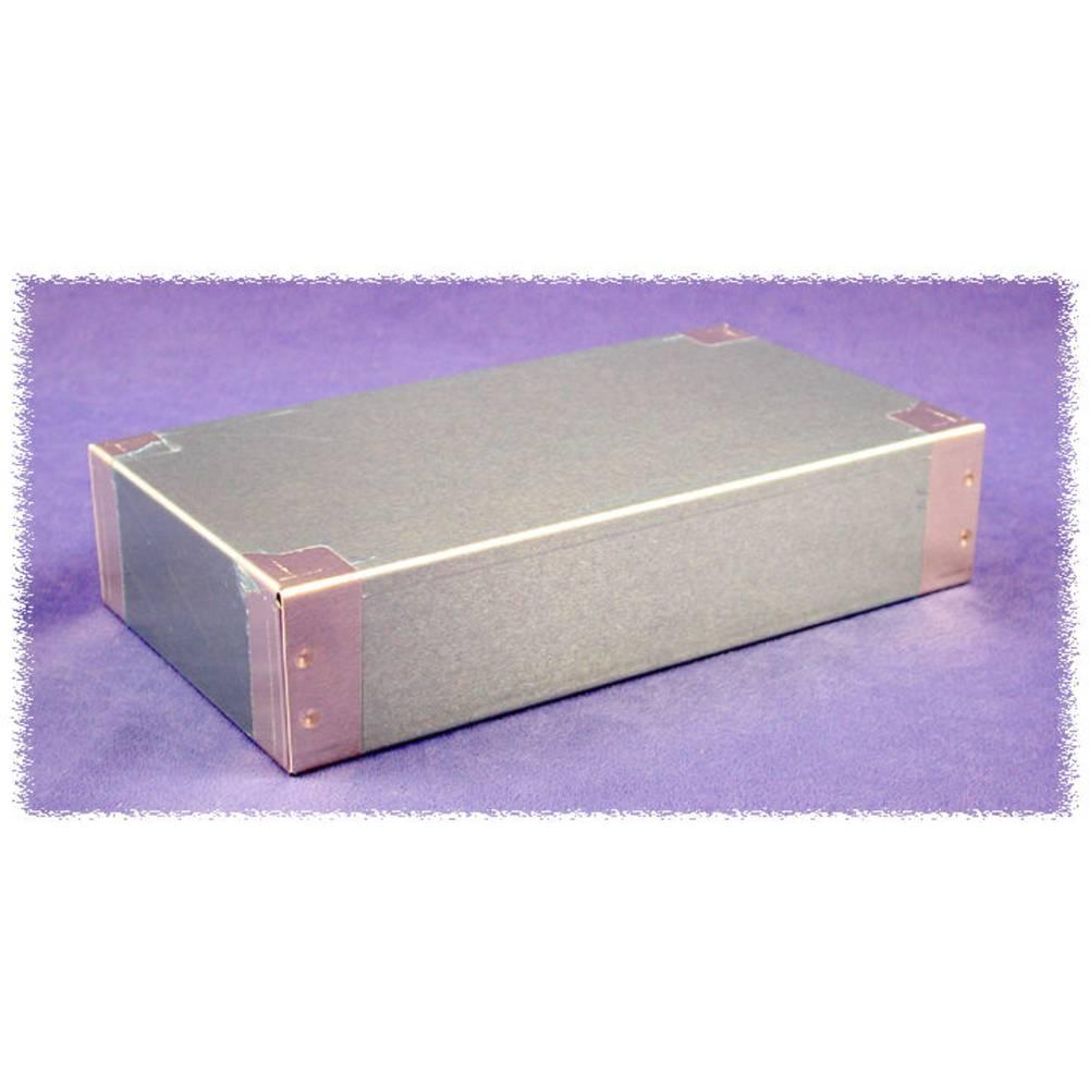 Universalkabinet 406 x 203 x 76 Aluminium Natur Hammond Electronics 1444-28 1 stk