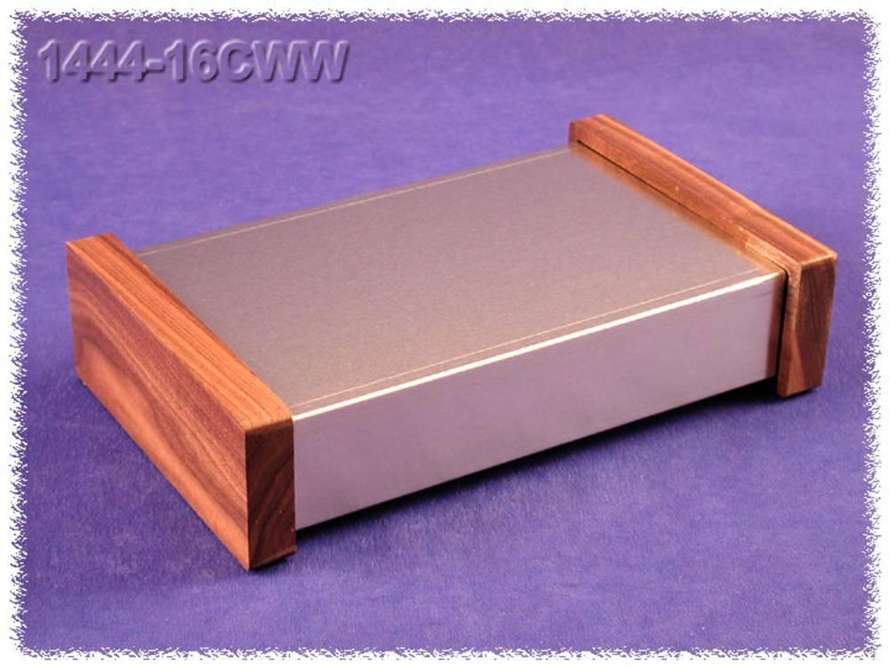 Universalkabinet 432 x 254 x 76 Aluminium Natur Hammond Electronics 1444-32CWW 1 stk