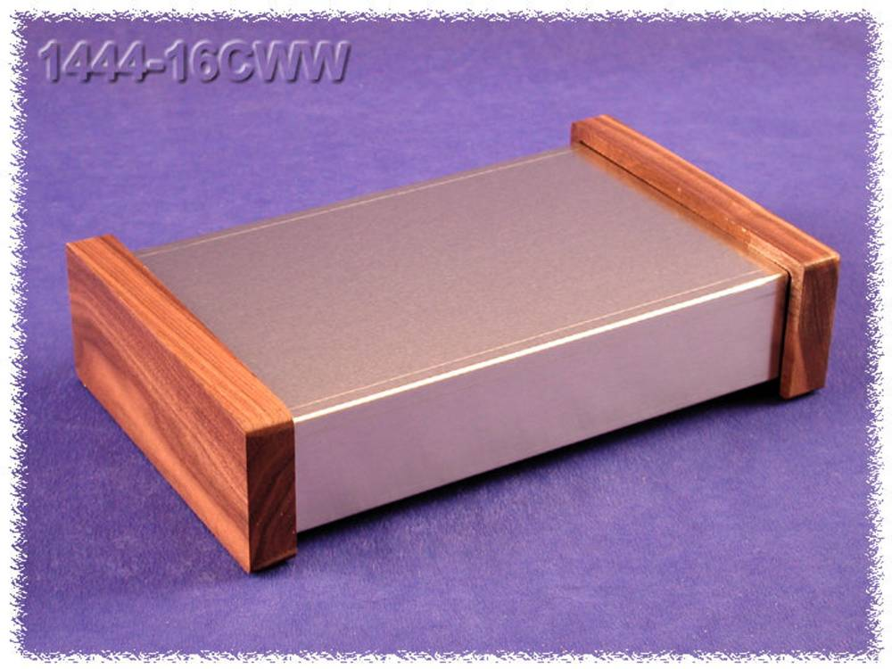 Universalkabinet 254 x 152 x 51 Aluminium Natur Hammond Electronics 1444-16CWW 1 stk