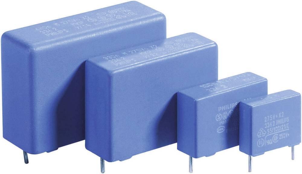 MKP-folijski kondenzator, radijalno ožičen 0.33 µF 275 V/AC 20 % 22.5 mm (D x Š x V) 26 x 8.5 x 18 mm 1 kos