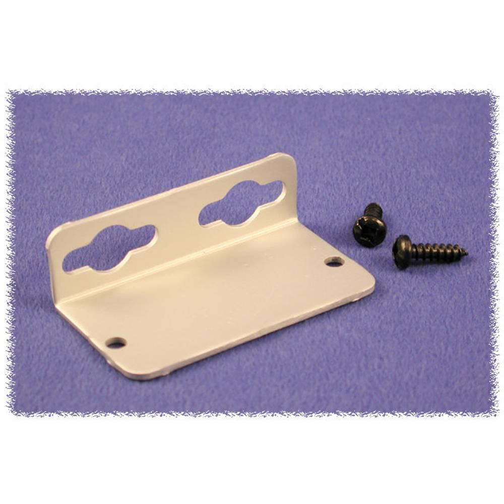 Vægholder Hammond Electronics 1455TF 1455TF Aluminium Natur 1 pair