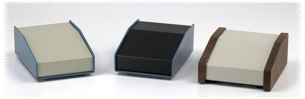 Pult-kabinet Hammond Electronics 1456RL3WHBU 293 x 432 x 81 Aluminium Blå , Beige 1 stk