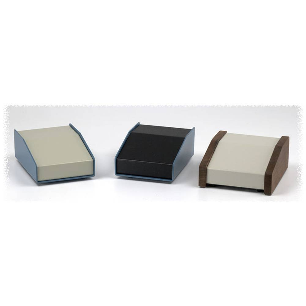 Pult-kabinet Hammond Electronics 1456CE3BKBU 146 x 102 x 81 Aluminium Blå , Sort 1 stk