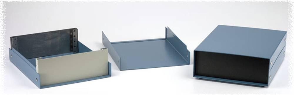Instrumentkabinet 203 x 254 x 101 Aluminium Sort Hammond Electronics 1458G4 1 stk