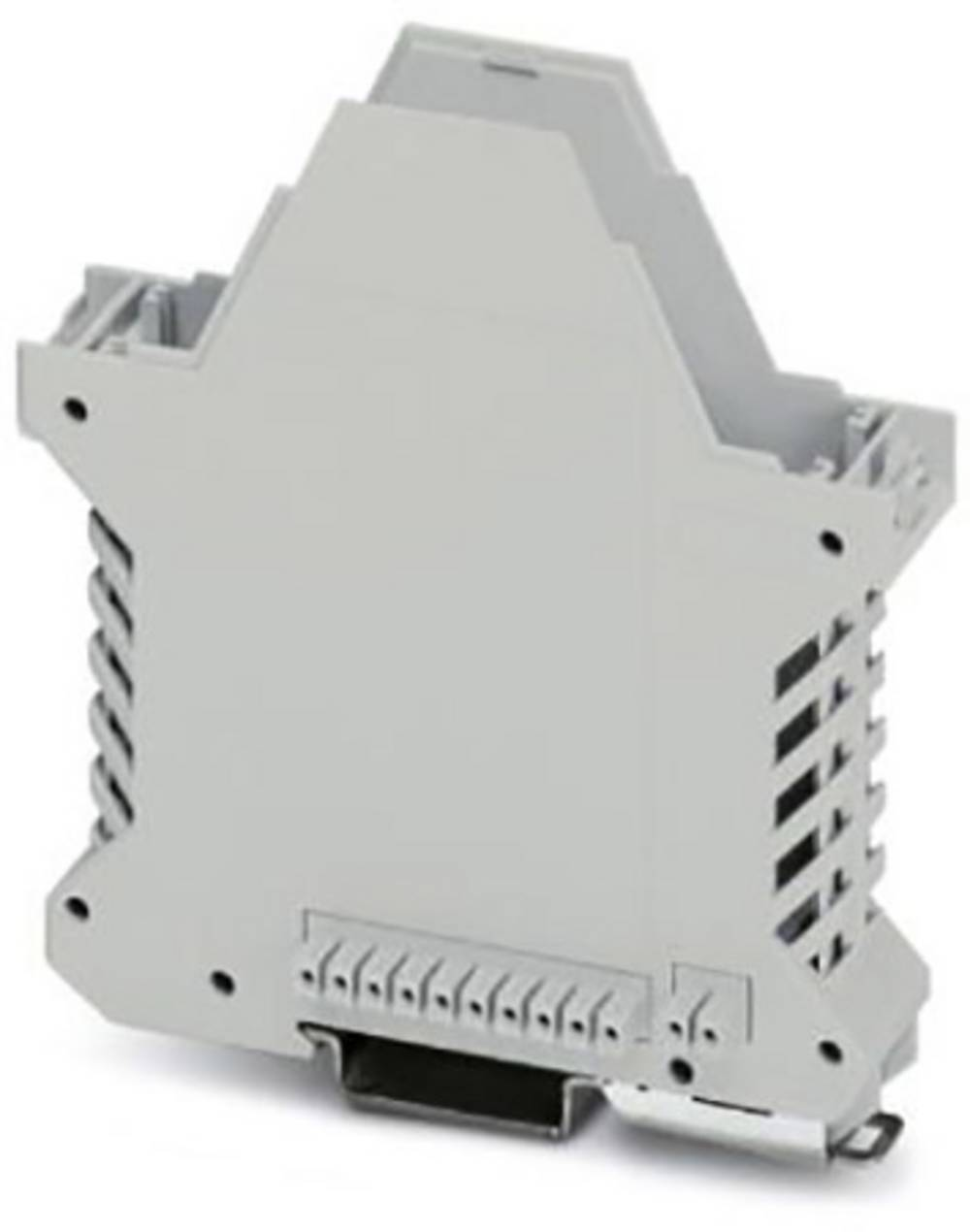 DIN-skinnekabinet underdel Phoenix Contact ME 22,5 UT/FE BUS/10+2 KMGY Polyamid 50 stk