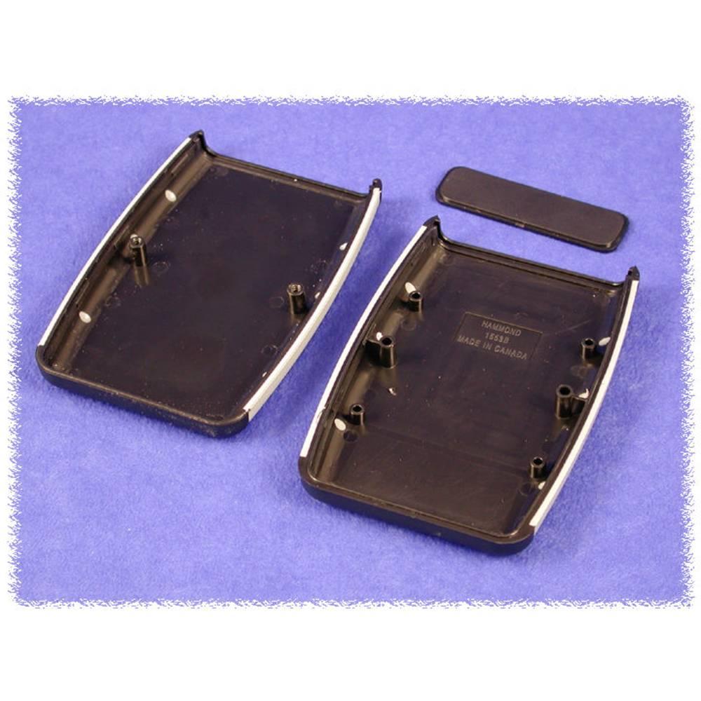 Endeplade Hammond Electronics 1553BPLGY-10 ABS Grå 10 stk