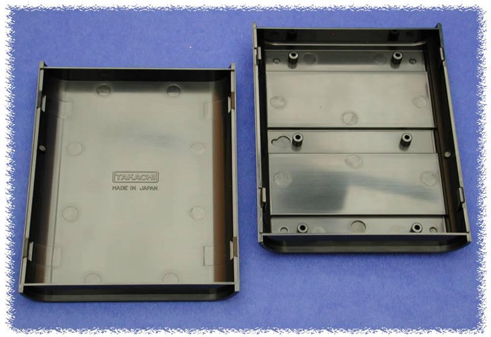 Universalkabinet 140 x 110 x 35 ABS Grå Hammond Electronics 1597CGY 1 stk
