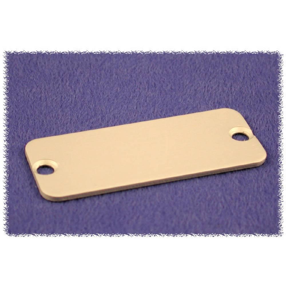 Endeplade Hammond Electronics 1455RAL-10 (L x B x H) 1.5 x 160 x 30.5 mm Aluminium Natur 10 stk