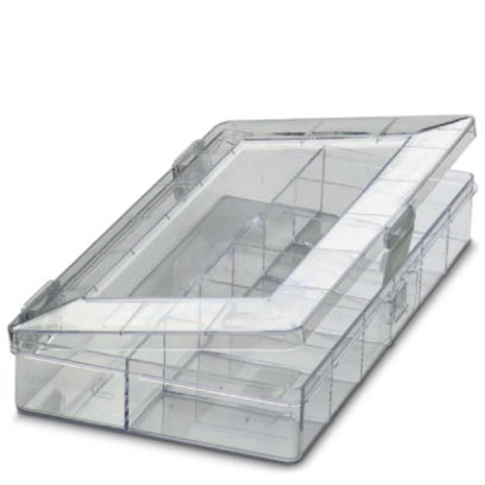 Sortirna škatla (D x Š x V) 170 x 105 x 32 mm Phoenix Contact SORTI 1/10 št. predalov: 10 fiksna pregraditev