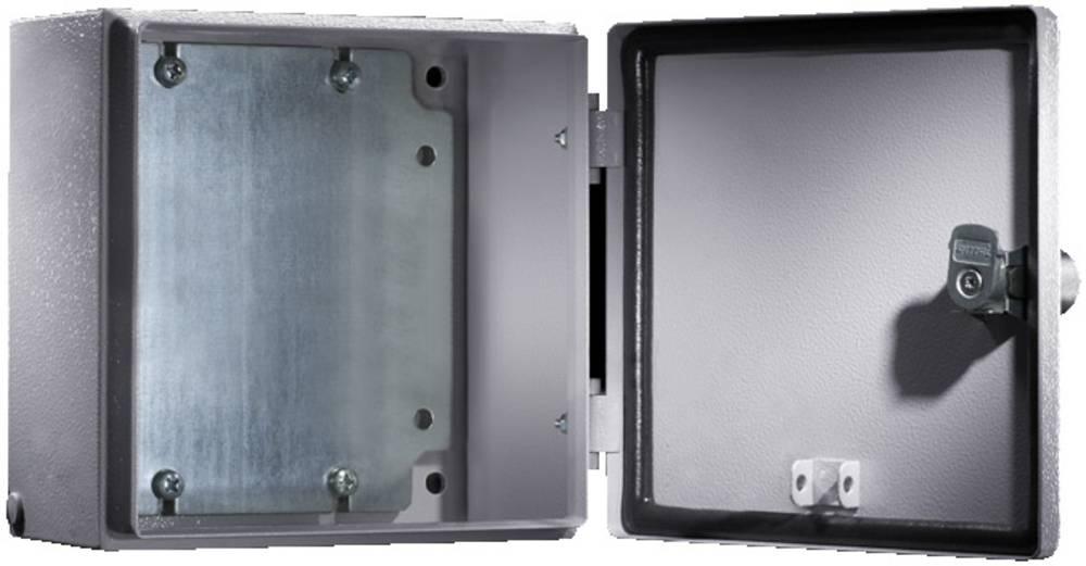 Installationskabinet Rittal E-Box 1553.500 150 x 150 x 120 Stålplade 1 stk