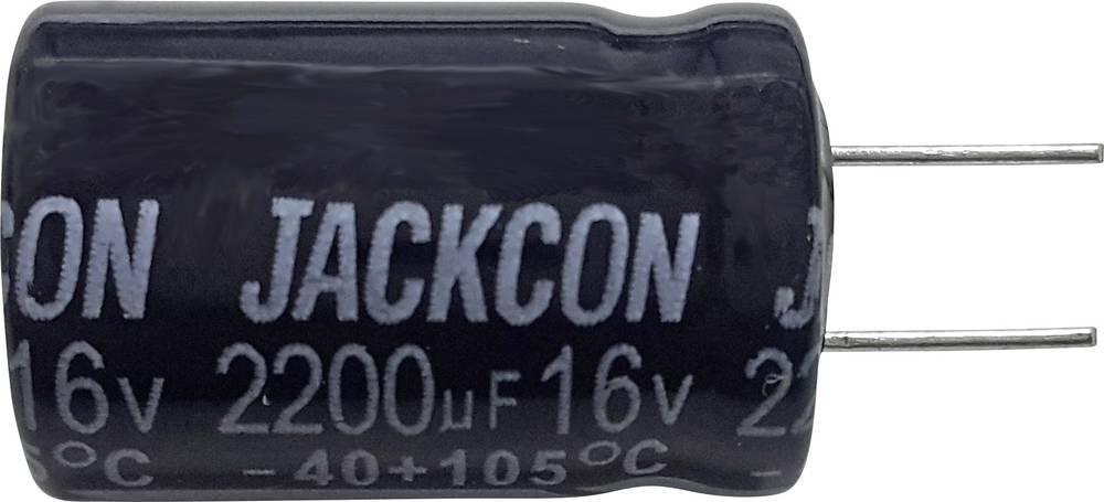 Elektrolitski kondenzator (OxV) 13 mm x 26 mm raster 5 mm 470F63 V
