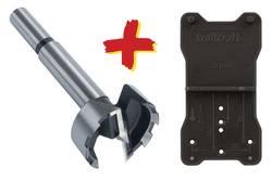 Forstnerbor Wolfcraft 8728000 Cylinderskaft 35 mm 1 stk