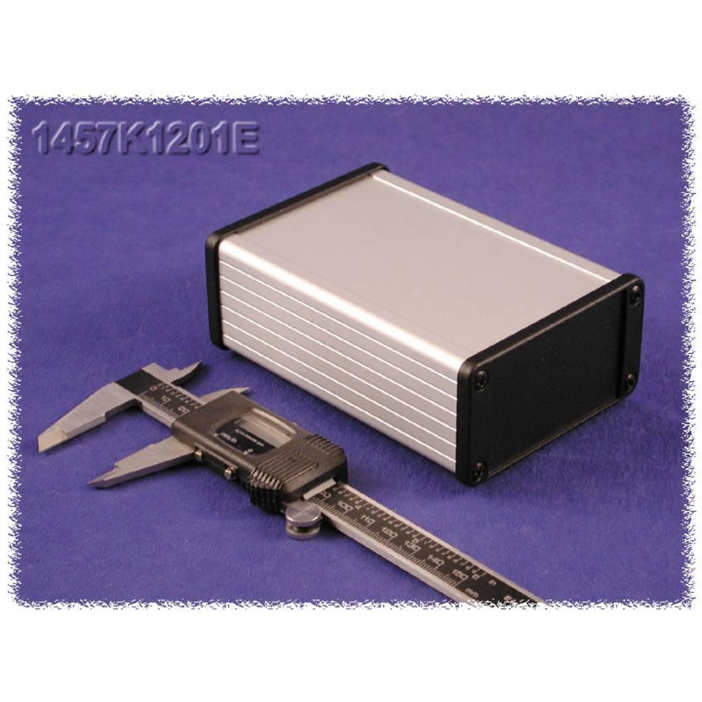Universalkabinet 160 x 104 x 32 Aluminium Sort Hammond Electronics 1457L1601EBK 1 stk