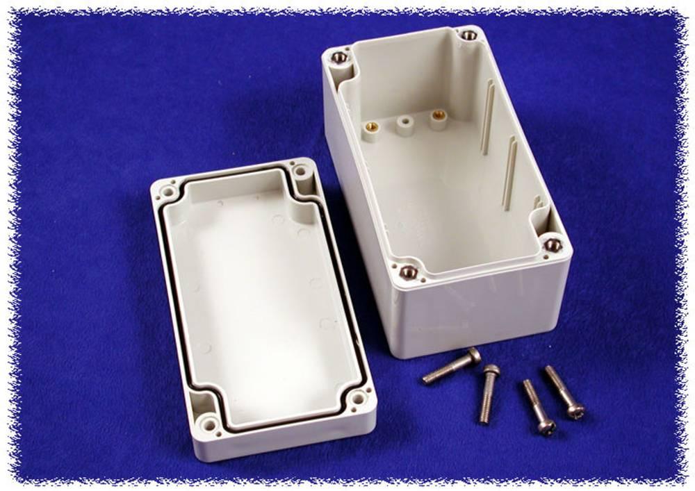 Universalkabinet 120 x 65 x 60 Polycarbonat Grå Hammond Electronics 1554D2GY 1 stk