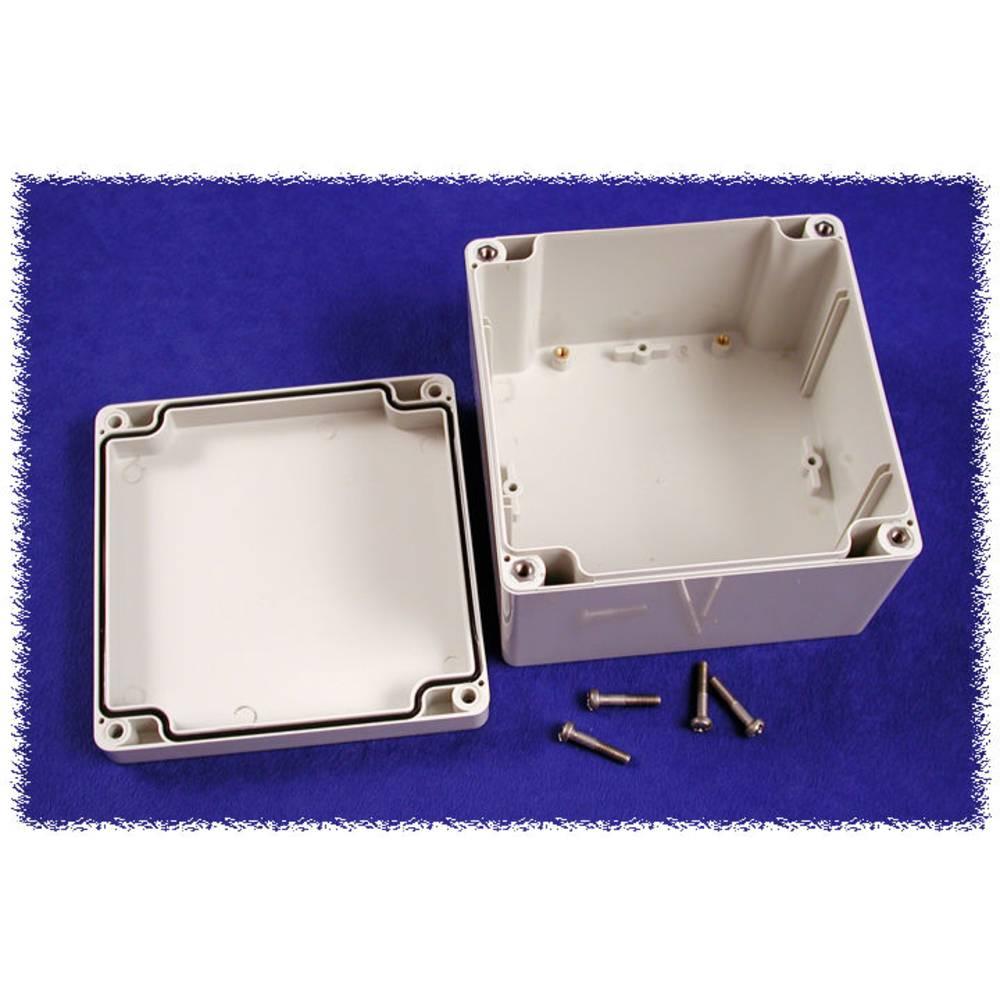Universalkabinet 120 x 120 x 80 Polycarbonat Grå Hammond Electronics 1554P2GY 1 stk