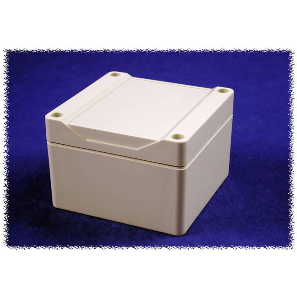 Universalkabinet 90 x 90 x 60 Polycarbonat Grå Hammond Electronics 1555E2GY 1 stk