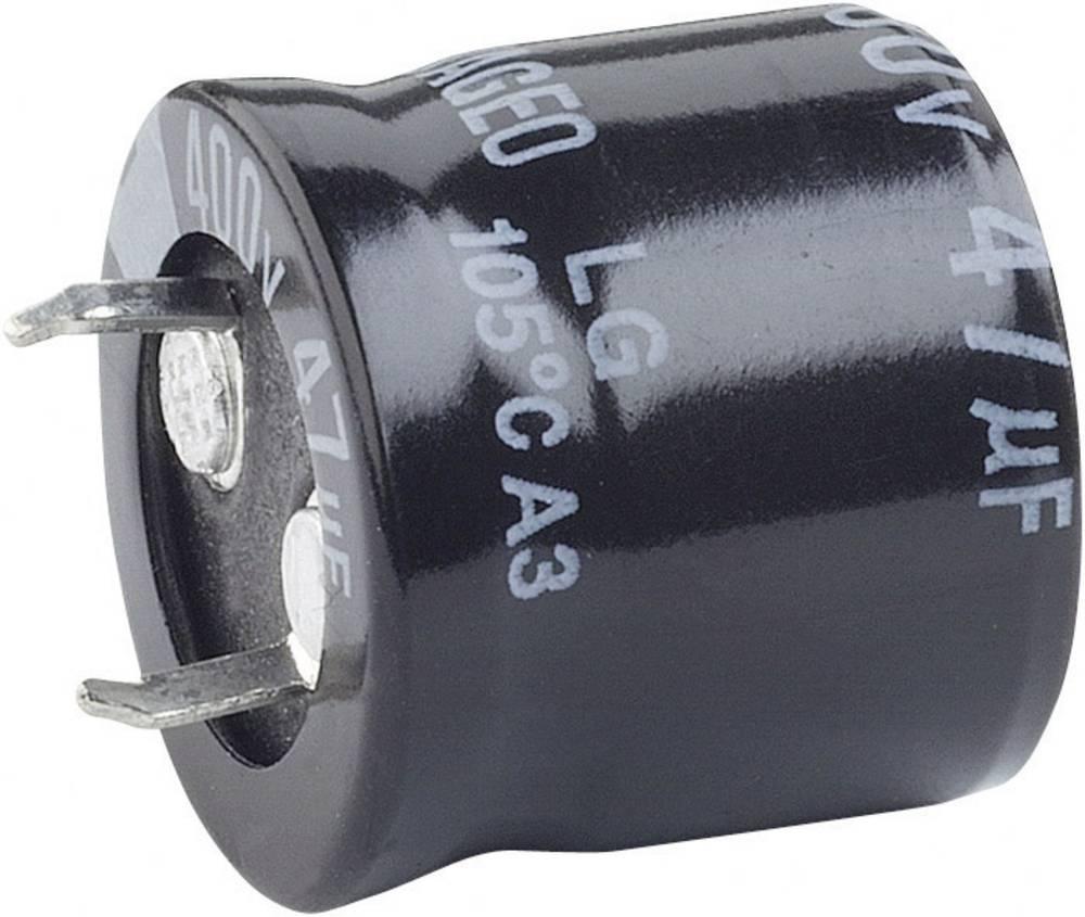 Visokovoltni elektrolitski kondenzatori ESR (OxV) 35 mm x 40 mm raster 10 mm 2200F 100 V