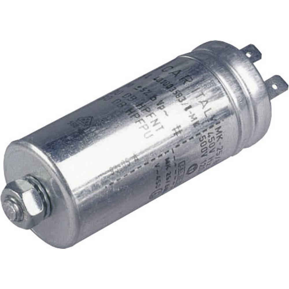 MKP-folijski kondenzator, radijalno ožičen 1 µF 500 V/AC 5 % ( x H) 25 mm x 63 mm 1 kos