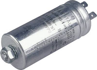 Image of 024033086891 MKP thin film capacitor Radial lead 3 µF 500 V AC 5 % (Ø x H) 30 mm x 63 mm 1 pc(s)