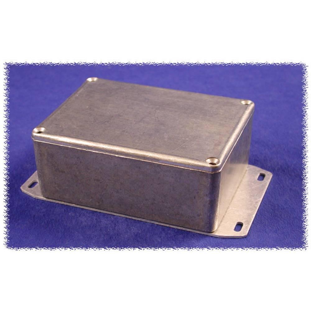 Universalkabinet 100 x 50 x 25 Aluminium Sort Hammond Electronics 1590GFBK 1 stk