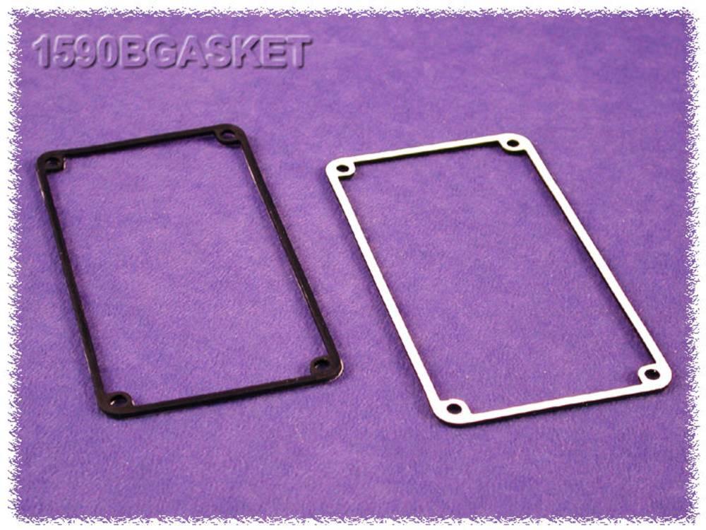 Tætning Hammond Electronics 1590GGASKET 1590GGASKET Silikone Sort 2 stk