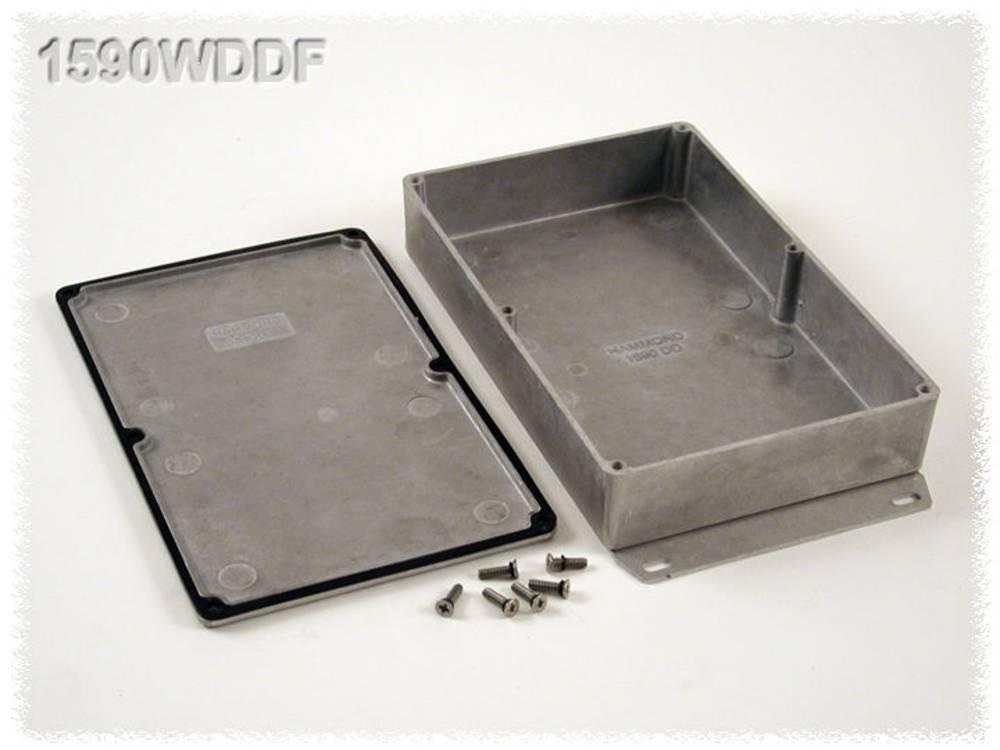 Universalkabinet 187.5 x 119.5 x 37 Aluminium Natur Hammond Electronics 1590WDDF 1 stk