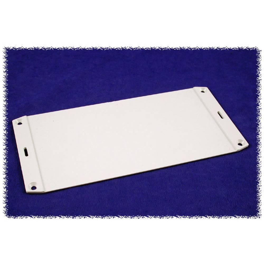 Flangeplade Hammond Electronics 1591FLGY (L x B) 110 mm x 53 mm ABS Grå 1 stk