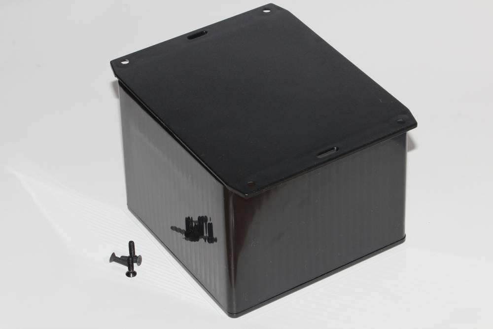 Universalkabinet 120 x 120 x 94 ABS Grå Hammond Electronics 1591VF2GY 1 stk