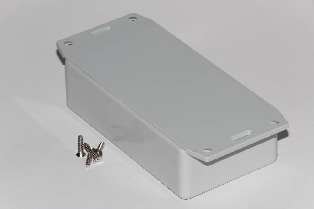 Universalkabinet 112 x 62 x 31 ABS Sort Hammond Electronics 1591BF2SBK 1 stk