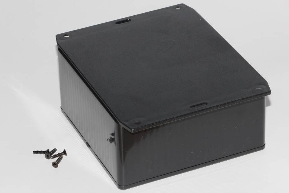 Universalkabinet 120 x 120 x 59 ABS Sort Hammond Electronics 1591UF2SBK 1 stk