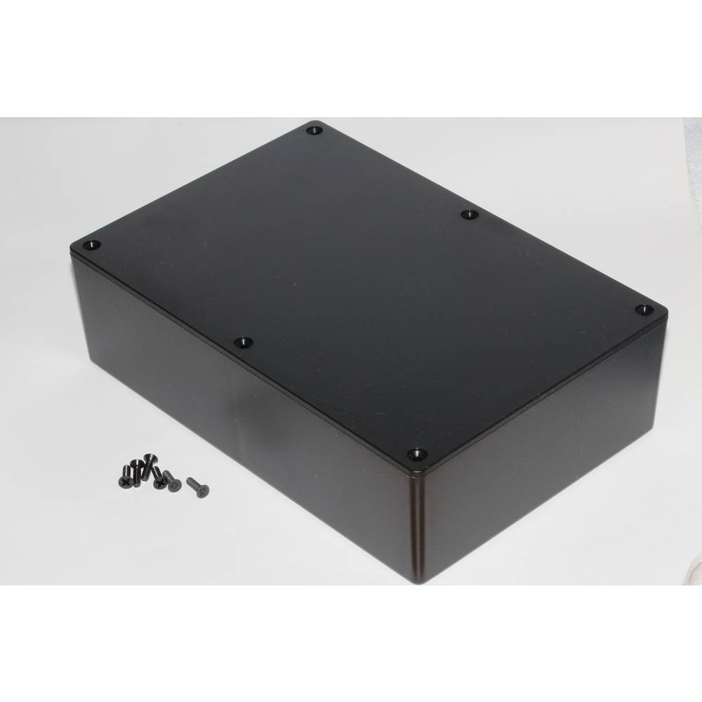 Universalkabinet 121 x 94 x 34 ABS Sort Hammond Electronics 1591XXGBK 1 stk
